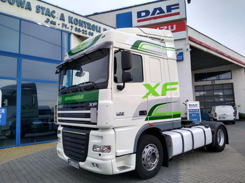 DAF XF 105.410 FT ATE 2013 r. SPACE CAB AUTOMAT RETARDER