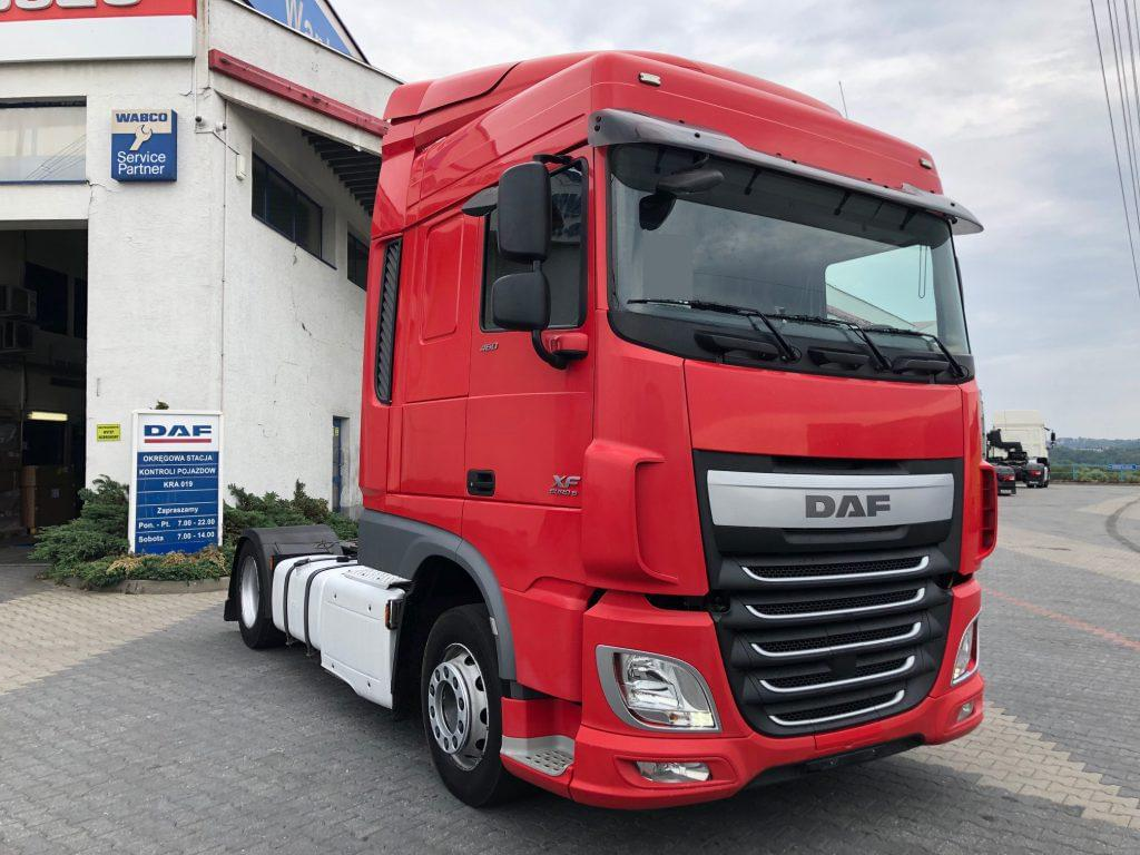 DAF XF 460 FT SPACE CAB 2014 r. AUTOMAT LOW DECK