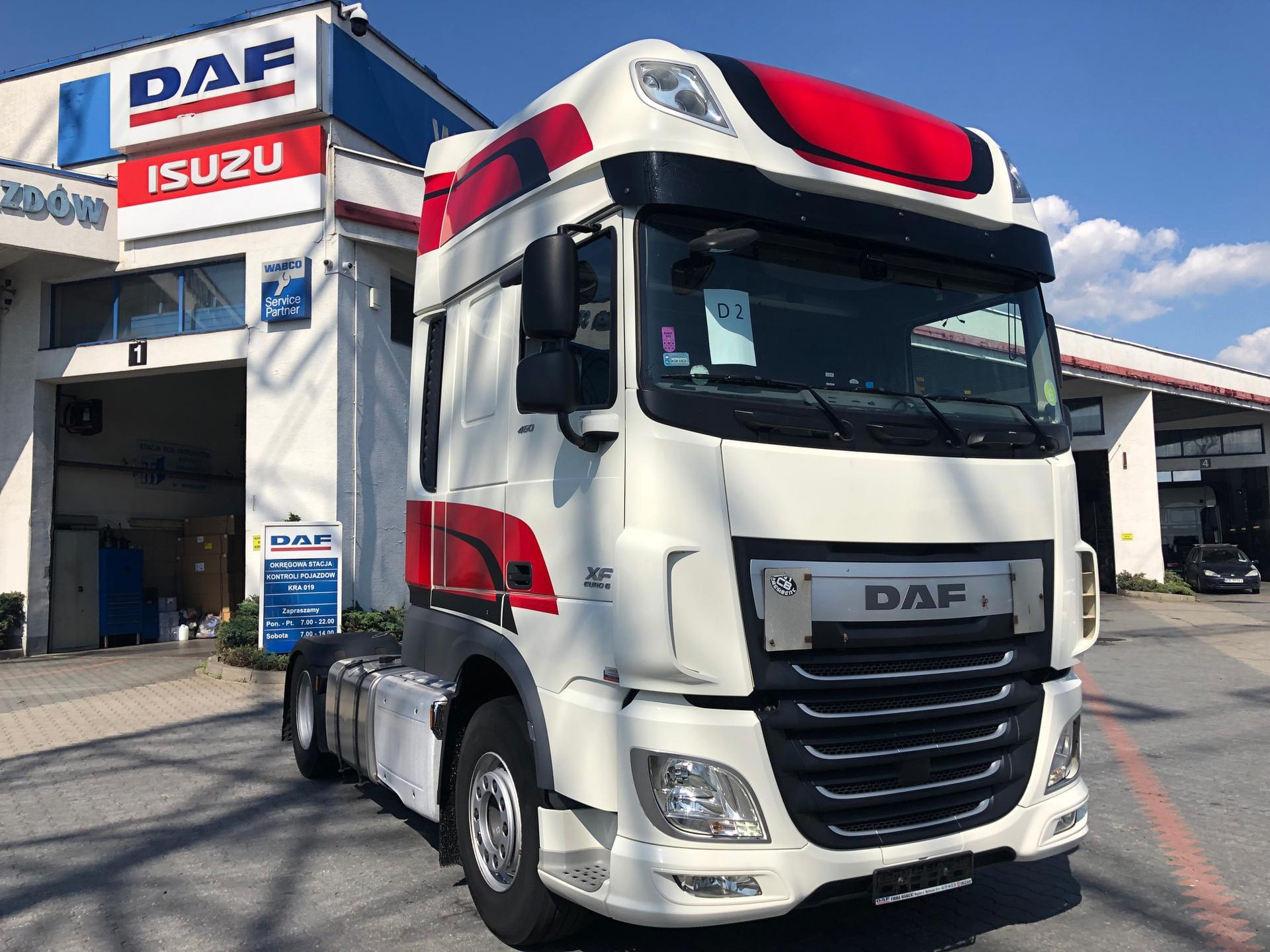 DAF XF 460 FT SUPER SPACE CAB AUTOMAT 2016 r. VIDEO