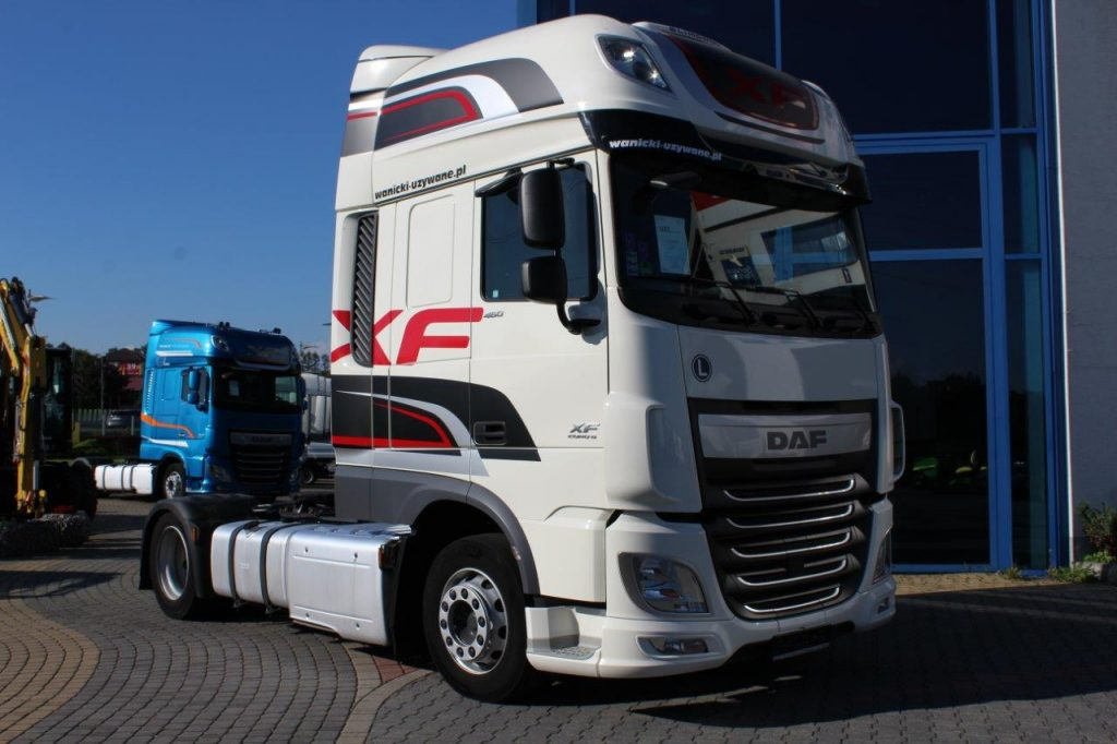 DAF XF 460 FT SUPER SPACE CAB 2017 r. AUTOMAT