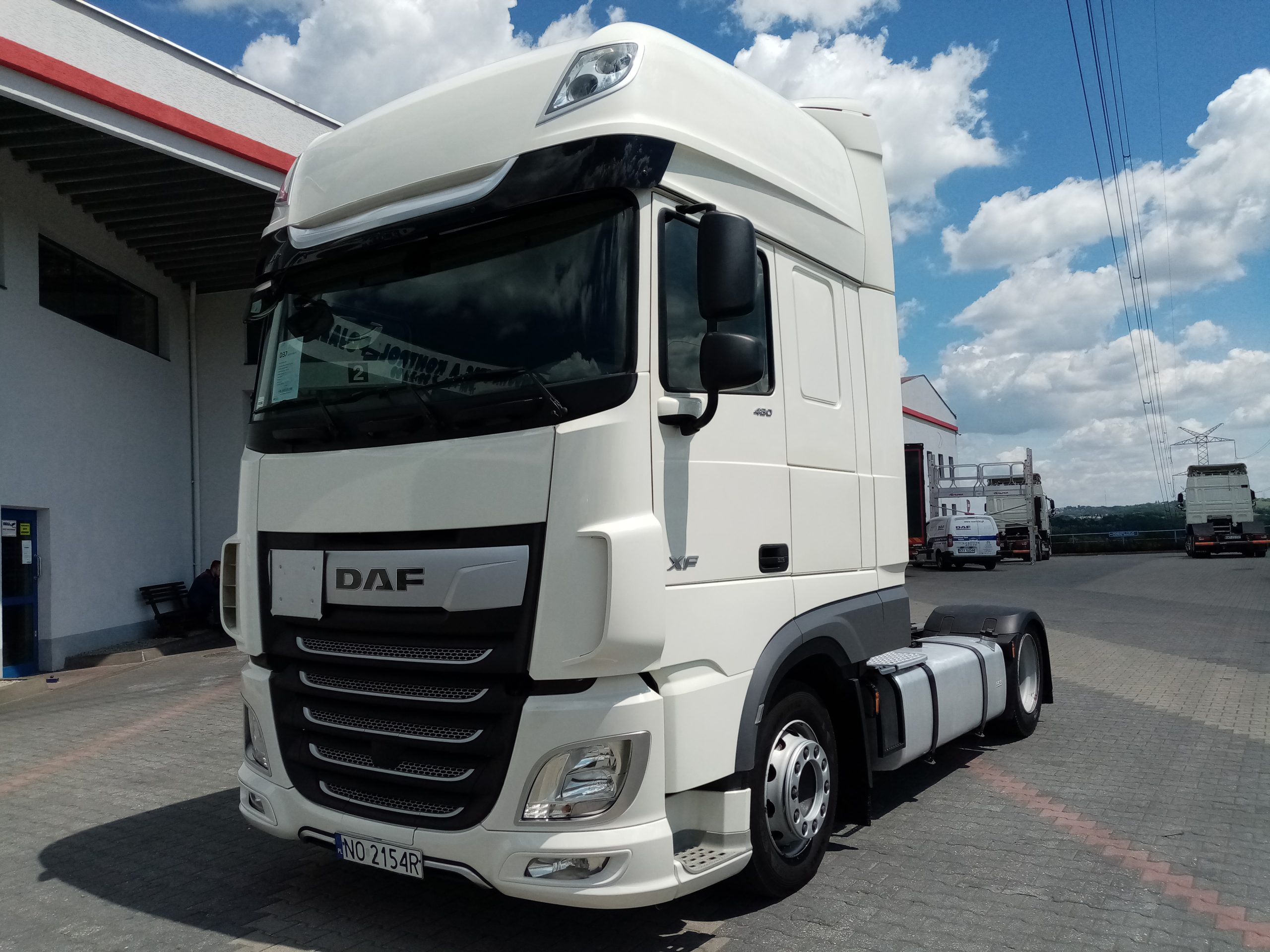 DAF XF 480 FT LOW-DECK SUPER SPACE CAB 2017