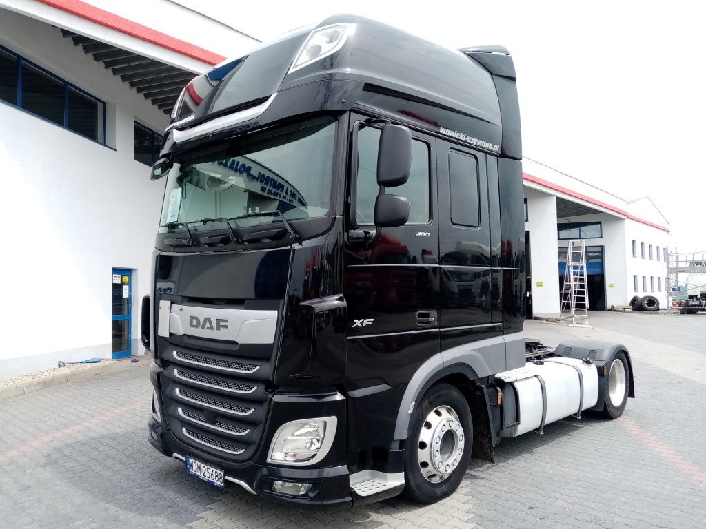 DAF XF 480 FT LOW-DECK
