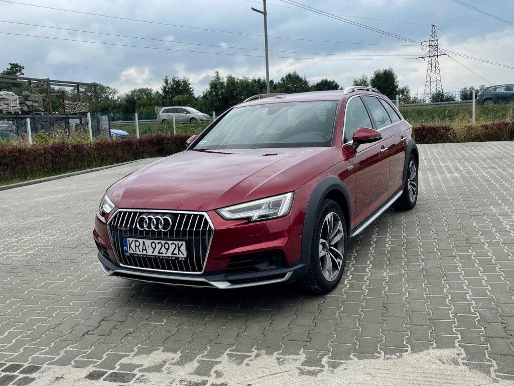 Audi A4 Allroad Quattro 190 KM perfekcyjny stan, pełna faktura VAT