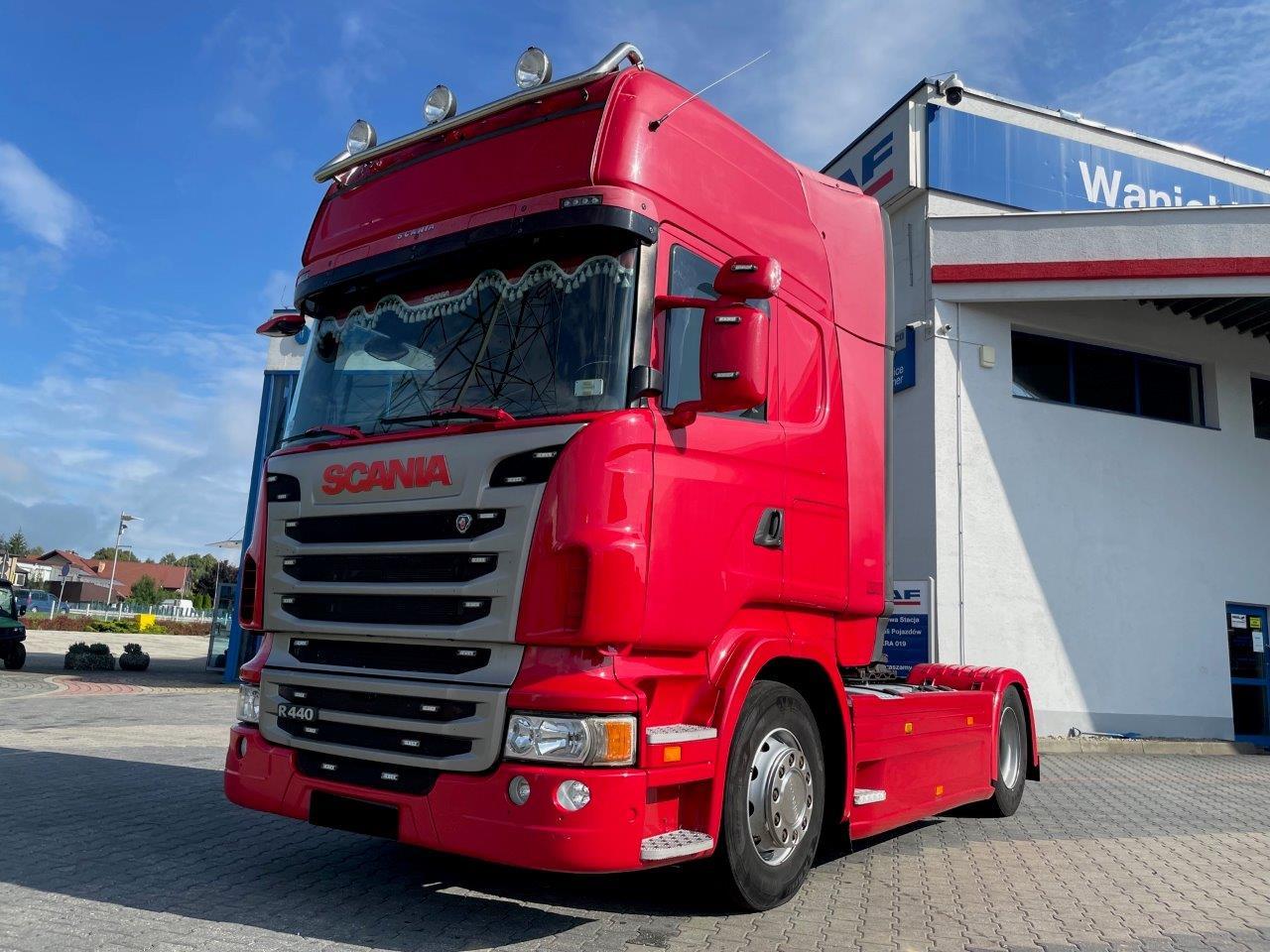 Scania R440 Topline, Retarder, Automat