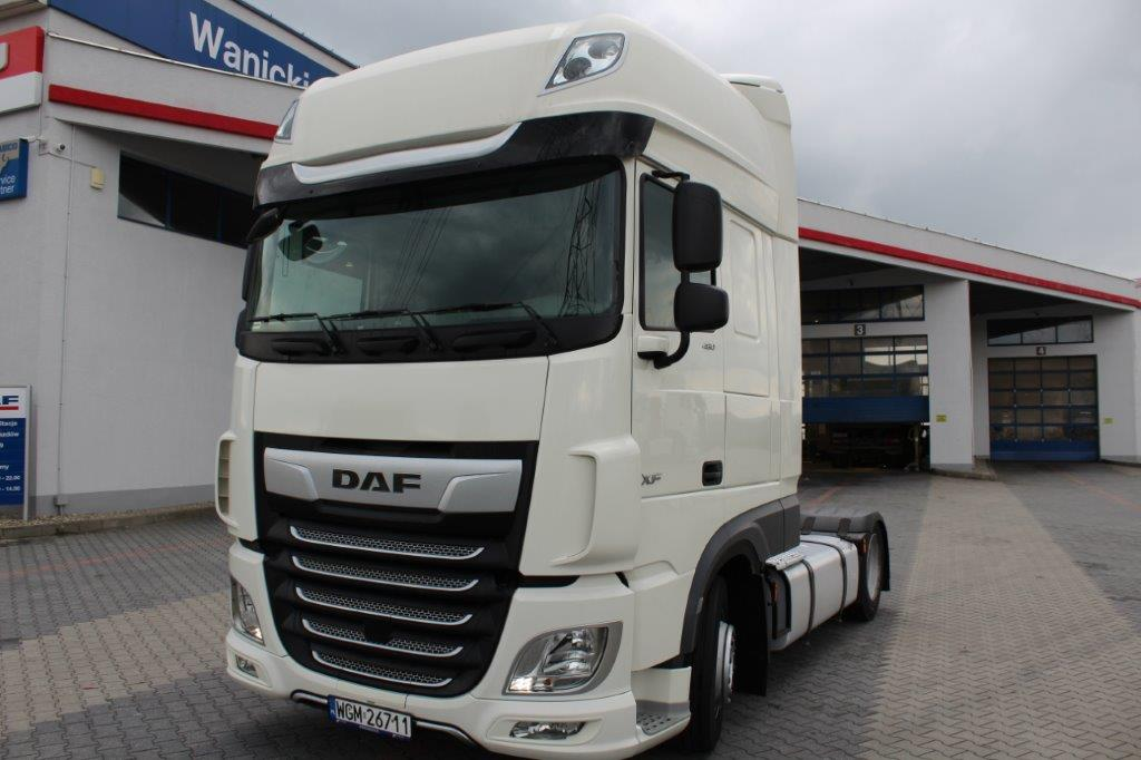 DAF XF 480 FT LOW-DECK SUPER SPACE CAB 2018